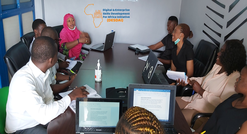 Digital and Enterprise Skills Development for Africa Initiative Nigeria ecommerce website design training